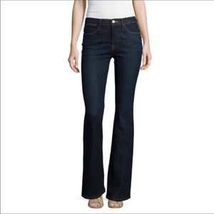 FRAME Le high flare Sutherland dark wash jeans